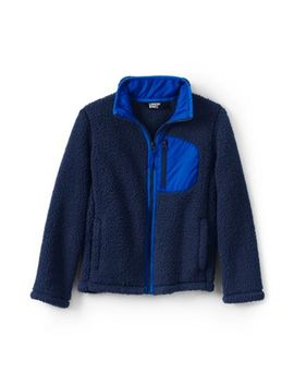 Little Kids Sherpa Jacket by Lands' End