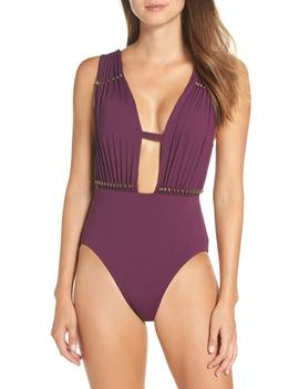 Reconnect One Piece Swimsuit by Becca