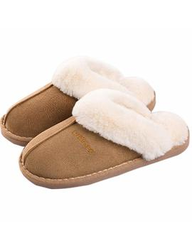 Ni Ne Ci F Fuzzy Mule Slippers Indoor Non Slip Winter Memory Foam House Slippers For Adult Men Women by Amazon