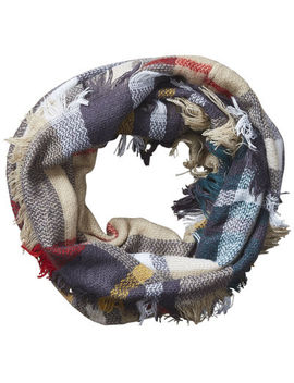 Design Imports Plaid Infinity Cold Weather Scarf by Design Imports