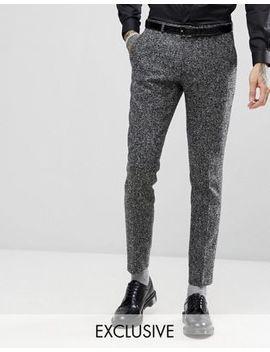 Heart & Dagger Woven In England Skinny Suit Pants by Heart & Dagger