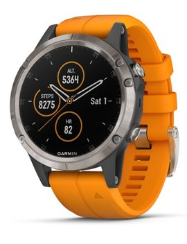 Garmin   Fenix 5 Plus Sapphire Gps Watch by Garmin