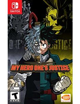 My Hero One's Justice   Nintendo Switch by By          Bandai Namco Entertainment America