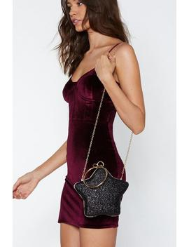 Want Catch A Falling Star Structured Bag by Nasty Gal