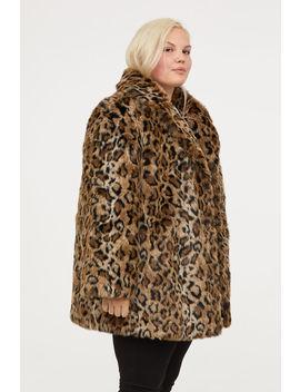 H&M+ Faux Fur Coat by H&M