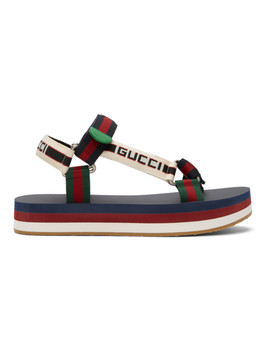 Multicolor Bedlam Sandals by Gucci