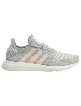 Adidas Swift Run Womens Cg4140 Grey Icey Pink White Knit Running Shoes Size 10 by Adidas