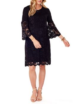 Lace Bell Sleeve Maternity Dress by Ingrid & Isabel®