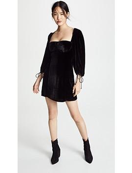 Nadine Velvet Bustier Dress by For Love & Lemons