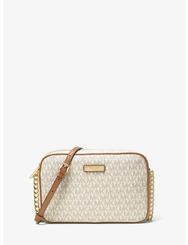 Jet Set Travel Logo Crossbody by Michael Michael Kors