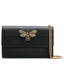 Bee Embellished Shoulder Bag by Gucci