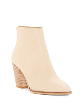 Adalan Block Heel Booties by Lucky Brand