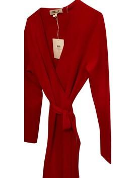 Cherry Red Style Number 10767dvf Lipstick  Night Out Dress by Diane Von Furstenberg