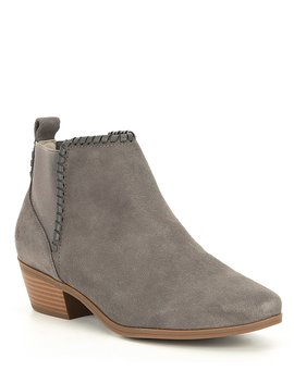 Tori Suede Booties by Jack Rogers