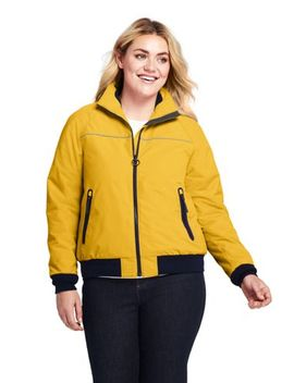 Women's Plus Size Squall Jacket by Lands' End