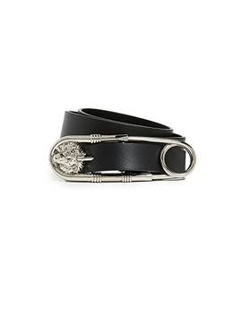 Safety Pin Belt by Versus
