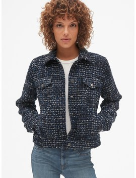 Icon Tweed Jacket by Gap