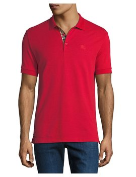 Men's Hartford Polo Shirt, Red by Burberry