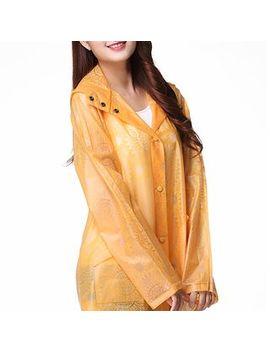 Sonrisa   Plain Rain Coat by Sonrisa