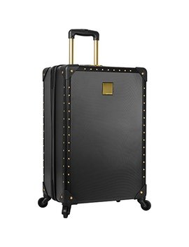 "Vince Camuto 24"" Hardside Expandable Spinner Luggage Black/Gold by Vince+Camuto"