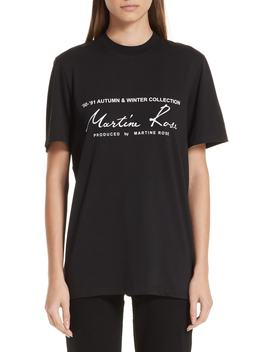 Classic Logo Tee by Martine Rose