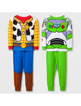 Toddler Boys' Toy Story 4pc Pajama Set   Blue by Toy Story
