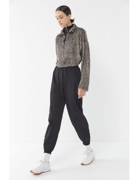 Uo Ashley Nylon High Rise Jogger Pant by Urban Outfitters