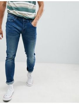 French Connection Blue Skinny Stretch Jeans by French Connection