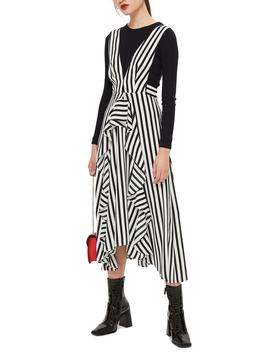 Pinafore Midi Dress by Topshop
