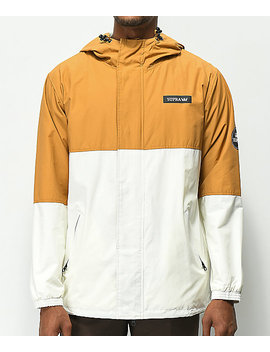 Supra Shifting Tan & Off White Jacket by Supra
