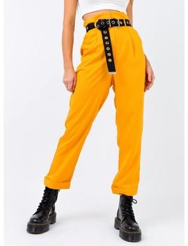 Minkpink Plain Tailored Pants by Minkpink