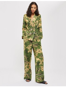Tropical Pyjama Jacket by Topshop