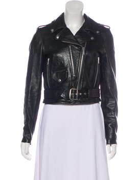 Leather Moto Jacket by Re/Done