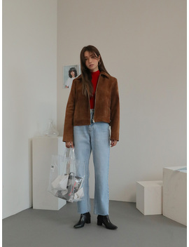 Zip Up Short Jacket by Stylenanda