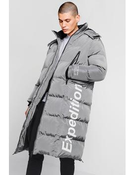 Expedition Longline Duvet Puffer by Boohoo