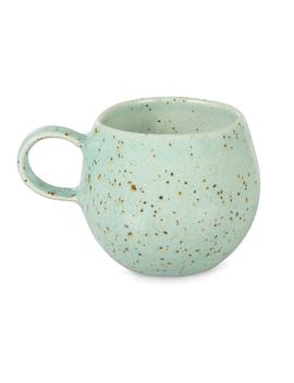 Clara Turquoise Ceramic Espresso Cup by Olivar Bonas