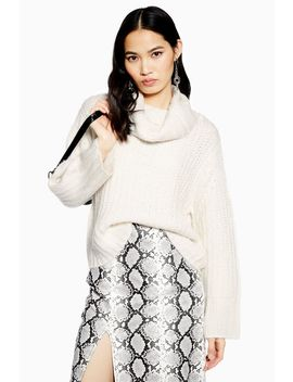 Chunky Roll Neck Jumper by Topshop