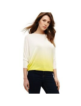 Phase Eight   Yellow Summer Dip Dye Becca Jumper by Phase Eight