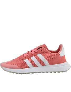 Adidas Originals Womens Flashback Trainers Tactile Rose/Pearl Grey/Gum by Mand M Direct
