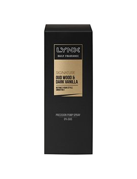 Lynx Signature Daily Fragrance Oud Wood And Dark Vanilla, 100 Ml by Lynx