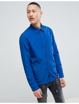 Asos Design Coach Jacket In Cobalt Blue by Asos Design