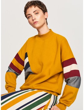 Colourful Stripe Sweatshirt by Reserved