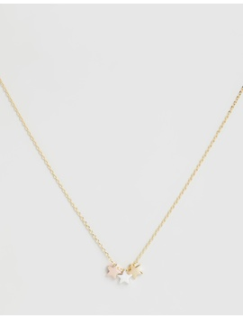 Three Little Stars Necklace by Orelia London