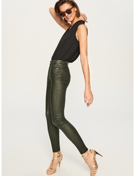 Wax Effect Trousers by Reserved
