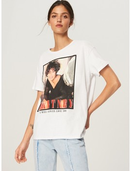Whitney Houston T Shirt by Reserved