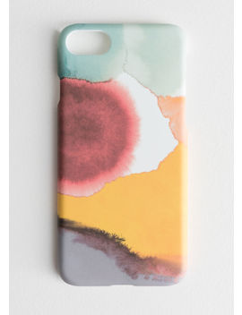 Watercolour Splash I Phone 7 Case by & Other Stories