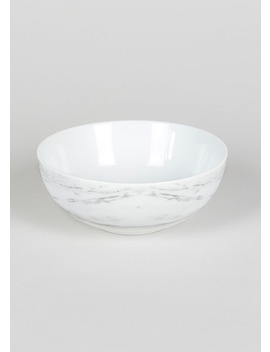 Marble Decal Bowl (16cm) by Matalan