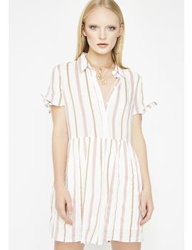 Straight Smitten Babydoll Dress by Lunik