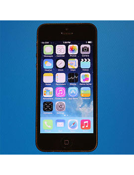 Fair   Apple I Phone 5 16 Gb Black (Unlocked   Verizon) Smartphone   Free Shipping by Apple
