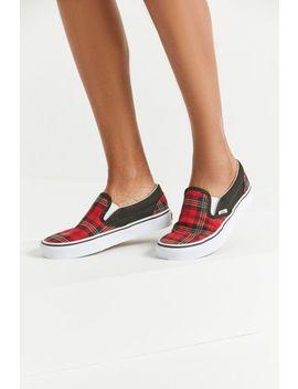 Vans Tartan Slip On Sneaker by Vans